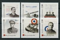 Guernsey 2017 MNH WWI WW1 Stories from Great War Pt 4 6v Set Military Stamps