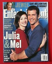 Entertainment Weekly #392 - August 1997 - Julia Roberts, Mel Gibson, Jewel  MINT