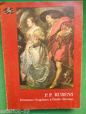PIERRE PAUL RUBENS PEINTURES ESQUISSES DESSINS CATALOGUE 1977 EXPO ANVERS
