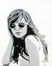 TOM WESSELMANN  Original Acrylic on canvas  PORTRAIT OF A GIRL