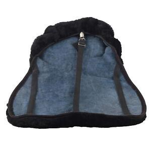 English Saddle Cover Premium Australian Merino Sheepskin Saddle Seat Saver Pad