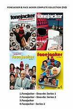 FONEJACKER + FACEJACKER Complete Series 1 - 2 DVD Box Set Phone Face Jacker Fone
