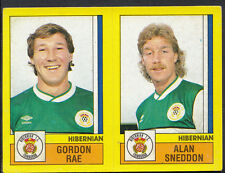 PANINI CALCIO 1987 Sticker-n. 532-HIBERNIAN-GORDON Rae & ALAN Sneddon