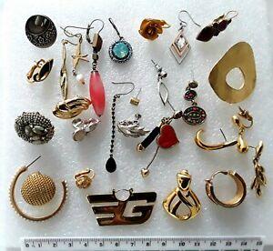 Job Lot Single Odd Signed Earrings Fiorelli Napier trifari and more  ref:D619