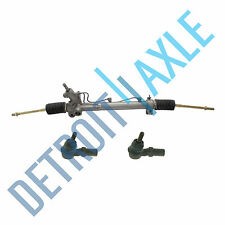 Power Steering Rack and Pinion + 2 New Front Outer Tie Rod for LEXUS RX300
