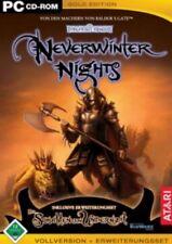 NEVERWINTER NIGHTS 1 Gold inkl Schatten von Undernzit GuterZust.
