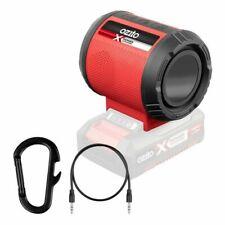 Ozito 18v Cordless Portable Jobsite Work Industrial Bluetooth Speaker AUX in USB