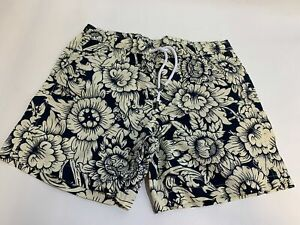 NEW G-STAR Raw Dirik Swim shorts Pear Yellow Black Mens Size Large (RRP $90)