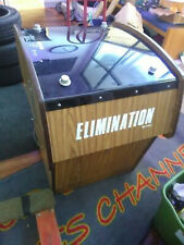 New ListingElimination Arcade game Black and white Rare 4 player Cocktail Kee Games (Atari)