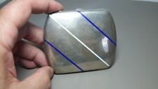 Antique Vintage Silver Cigarette Case Art Deco White Blue Enamel 800 Hallmark