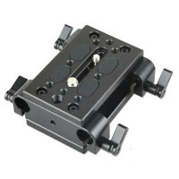SmallRig Baseplate with Dual 15mm Rod Clamp with 1/4 and 3/8 Foot Holes 1798