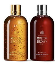 Molton Brown Rosa Absolute & Oudh Accord Bath & Shower Gel Set 2x300ml