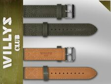Canvas strap for Jeep Willys Club automatic watches Switzerland