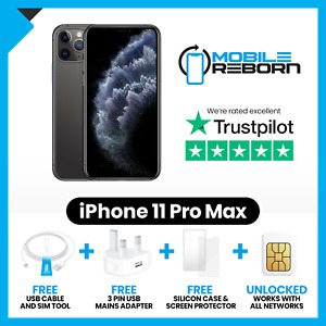Apple Iphone 11 Pro Max-Good Condition(Grade C Refurbished)-All Colours-Unlocked