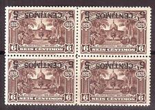 Costa Rica - 1941, Mi 268 k, 4x ** mnh Aufdruck kopfstehend