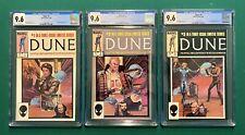 Dune Movie 1985 Marvel Comic Adaptation (Complete #1-3) All 3 9.6 CGC 🔥 🔥 🔥