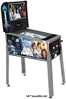 Star Wars Retro Arcade1UP Digital Pinball Machine Free Adapter Arcade 1UP Riser