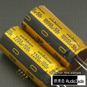 [AudioJade] 10000uF 50V 2200uF 100V nichicon MUSE FW HIFI Audio Capacitors