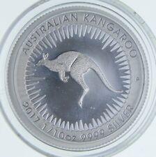 2017 Australia 10 Cents - 1/10 Oz. Silver Kangaroo *268