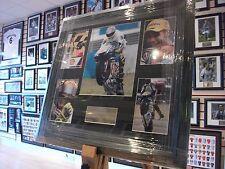 Valentino Rossi Signed Autograph Display MotoGP / Superbikes NEW