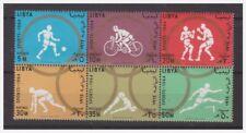 LIBIA INDIPENDENTE 1964 - OLIMPIADI DI TOKYO  SERIE  NUOVA **