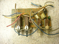 Sansui G-6700 F-2860 speaker select board and subsonic and high filter switches