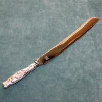 Whiting Lily of the Valley 12 Inch Wedding Cake Knife, Sterling Handle