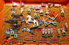 32 WARWICK Lead Civil War Figures - North & South Generals, Canon, Soldiers ect