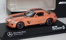 Schuco Mercedes Benz SLS AMG Gran Turismo 5 Signature Orange Edition 1/43 Boxed