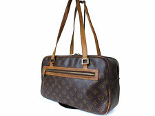 Auth LOUIS VUITTON CITE GM Monogram Canvas Shoulder Bag LN12688L