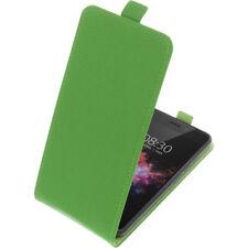 Custodia Per Tp-Link Neffos X1 Max Custodia Cellulare Modello Flip Verde