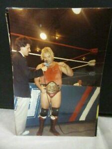 #49  Vintage Professional Wrestling Wrestler  WCCW  USWA Photo Eric Embry