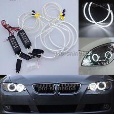 4pcs White CCFL Angel Eyes Ring 2x Inverters kit For 2003-2010 BMW E83 X3