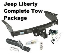 2002-2007 JEEP LIBERTY COMPLETE TRAILER HITCH PACKAGE