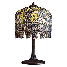 WISTERIA | Tiffany-Stil | Tischlampe | 25 cm | Handgefertigtlampe