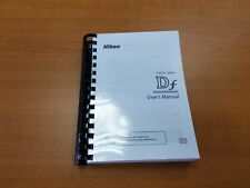 NIKON DF DSLR CAMERA PRINTED INSTRUCTION MANUAL USER GUIDE 396 PAGES A5