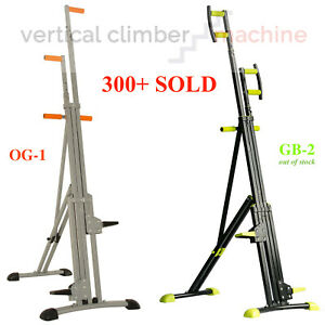 Vertical Climber Step Fitness Exercise Climbing Cardio Workout Trainer. 3Y WRTY