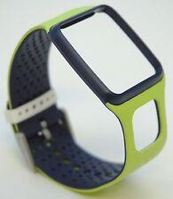 NEW TomTom Comfort Strap Slim VOLT YELLOW/BLUE Runner Multi-Sport GPS watch band