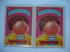 SHRUNKEN ED 65a CHEEKY CHARLES 65b Garbage Pail Kids Original Series 2 TOPPS GPK