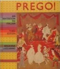 Prego!: An Invitation to Italian (English and Italian Edition) Lazzarino, Grazi