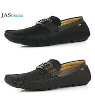 Mens Smart Casual Slip On Driving Shoes Walking Loafers Fashion Flat Moccasins