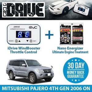 IDRIVE THROTTLE CONTROL for MITSUBISHI PAJERO 4TH GEN 2006 ON+NANO ENERGIZER AIO