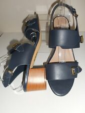 Blue Strappy Sandal / Shoes Size UK 8 Wide Fit (EEE) BNWT From Evans