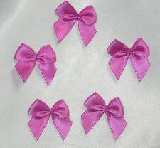 "Polyester Satin Ribbon Bows 1"" 100 Piece Pack USA Seller"