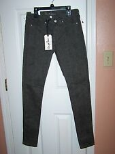 Chip And Pepper SYD Skinny Brown Lepord Print  Jeans Size 28