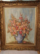 tableau Huile sur toile signée CARADEC. M. (1901/1998). ENCADRE