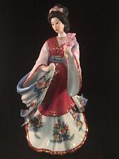 Danbury Mint Figurine Lena Liu The Plum Blossom Princess Fine Porcelain