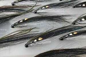 SUNRAY SHADOW 11 CM SALMON TUBE FLY PLASTIC BY RYAN HOUSTON