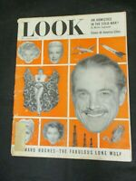 Vintage LOOK Magazine February 9, 1954 Howard Hughes The Fabulous Lone Wolf