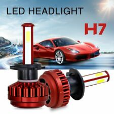 H7 80W 16000LM LED Headlight Conversion Kit Car Beam Bulbs Driving Lamps 6000K